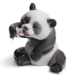Lladro A Cheerful Panda