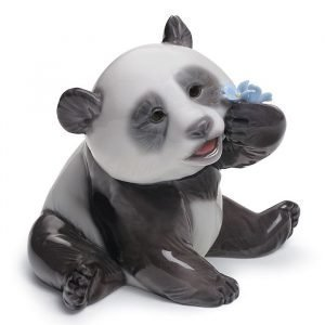 Lladro A Happy Panda