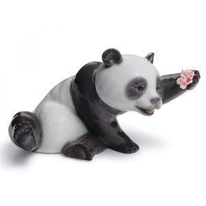 Lladro A Jolly Panda
