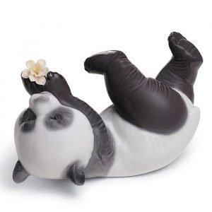 Lladro A Joyful Panda