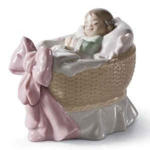 Lladro A New Treasure Girl