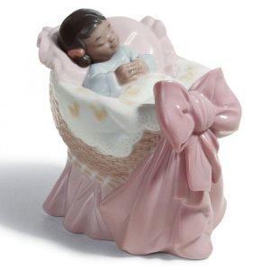 Lladro A New Treasure Girl Black Legacy