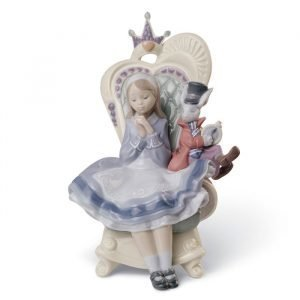 Lladro Alice In Wonderland