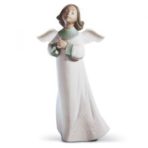 Lladro An Angels Wish Gres