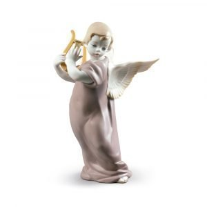 Lladro Angel With Lyre
