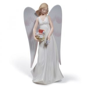 Lladro Angelic Stars Tree Topper