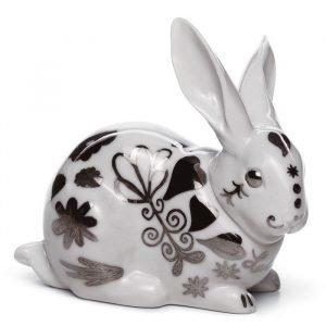 Lladro Attentive Bunny Re Deco