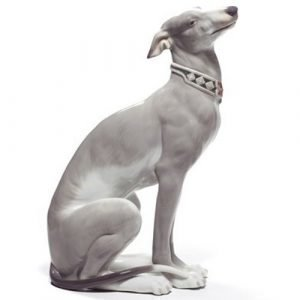 Lladro Attentive Greyhound