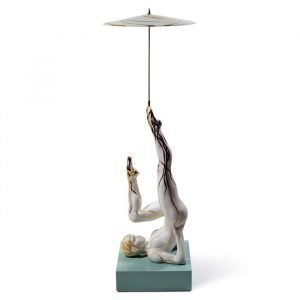 Lladro Balancer With Parasol