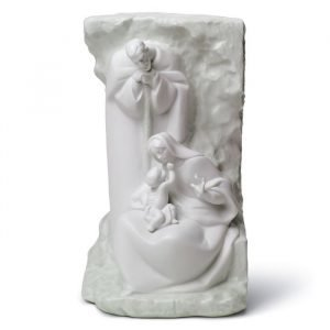 Lladro Blessed Family Mural Grey