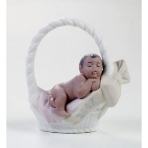 Lladro Born In 2007 Black Legacy Girl