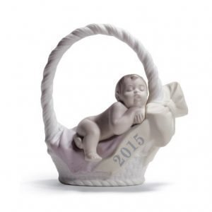 Lladro Born In 2015 Boy Fair Skin