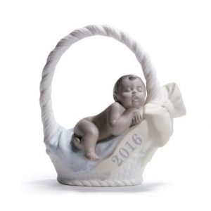 Lladro Born In 2016 Boy Dark Skin