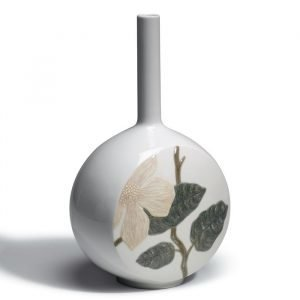 Lladro Canvas Vase Flower Twig