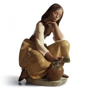 Lladro Classic Water Carrier Gres