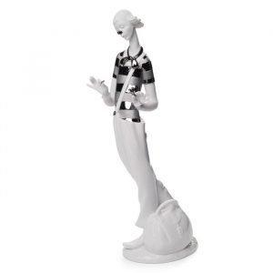 Lladro Clown In Love Re Deco