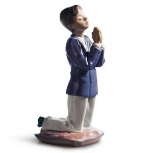 Lladro Communion Prayer Boy