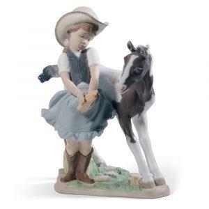 Lladro Cowgirl