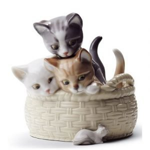 Lladro Curious Kittens