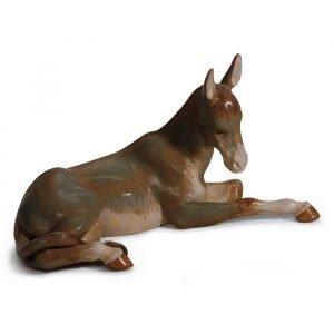 Lladro Donkey Gres