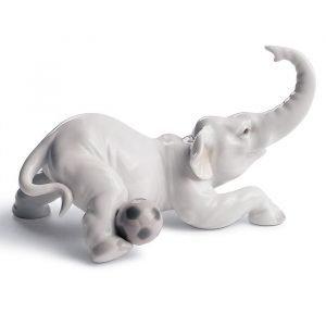 Lladro Elephant Goal