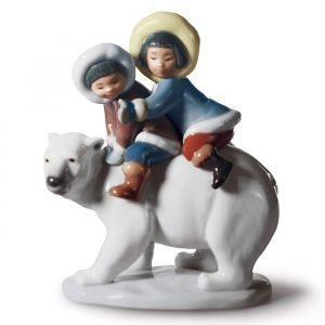 Lladro Eskimo Riders