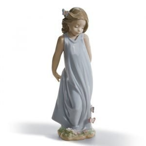 Lladro Friend Of The Butterflies