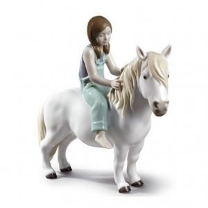 Lladro Girl With Pony