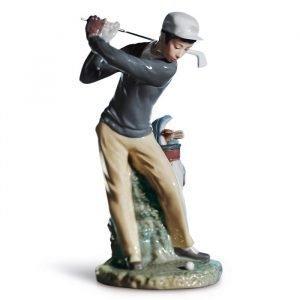 Lladro Golfer