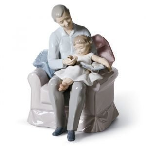 Lladro Grandfather's Stories