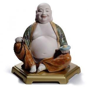 Lladro Happy Buddha
