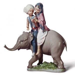 Lladro Hindu Children