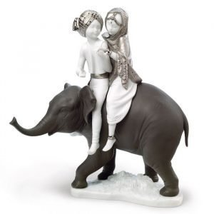 Lladro Hindu Children Re Deco