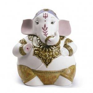 Lladro Hindu God Ganesha