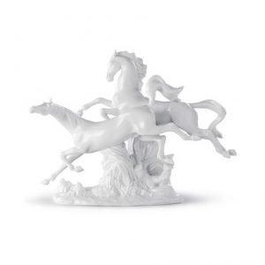 Lladro Horses Galloping