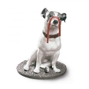 Lladro Jack Russel With Licorice