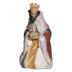 Lladro King Gaspar Gres