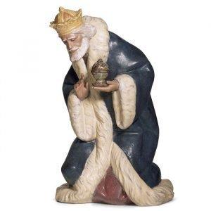 Lladro King Melchior Gres