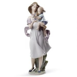 Lladro Look Mommy!