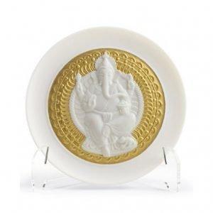Lladro Lord Ganesha Lautanen Syvä 10 Cm