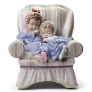 Lladro My Two Little Treasures
