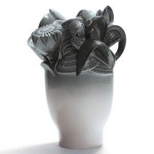 Lladro Naturofantastic Small Maljakko Grey