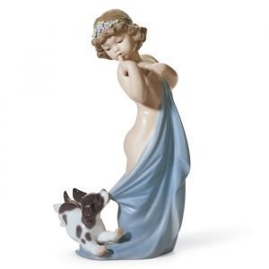 Lladro Naughty Puppy