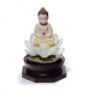 Lladro Padmasana Buddha