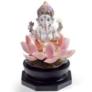 Lladro Padmasana Ganesha