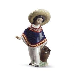 Lladro Pedro With Jug