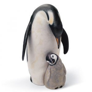 Lladro Penguin Love