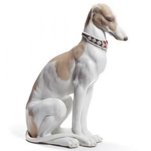 Lladro Pensive Greyhound