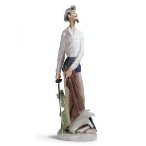 Lladro Quixote Standing Up