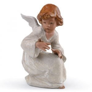 Lladro Seaside Angel Gres